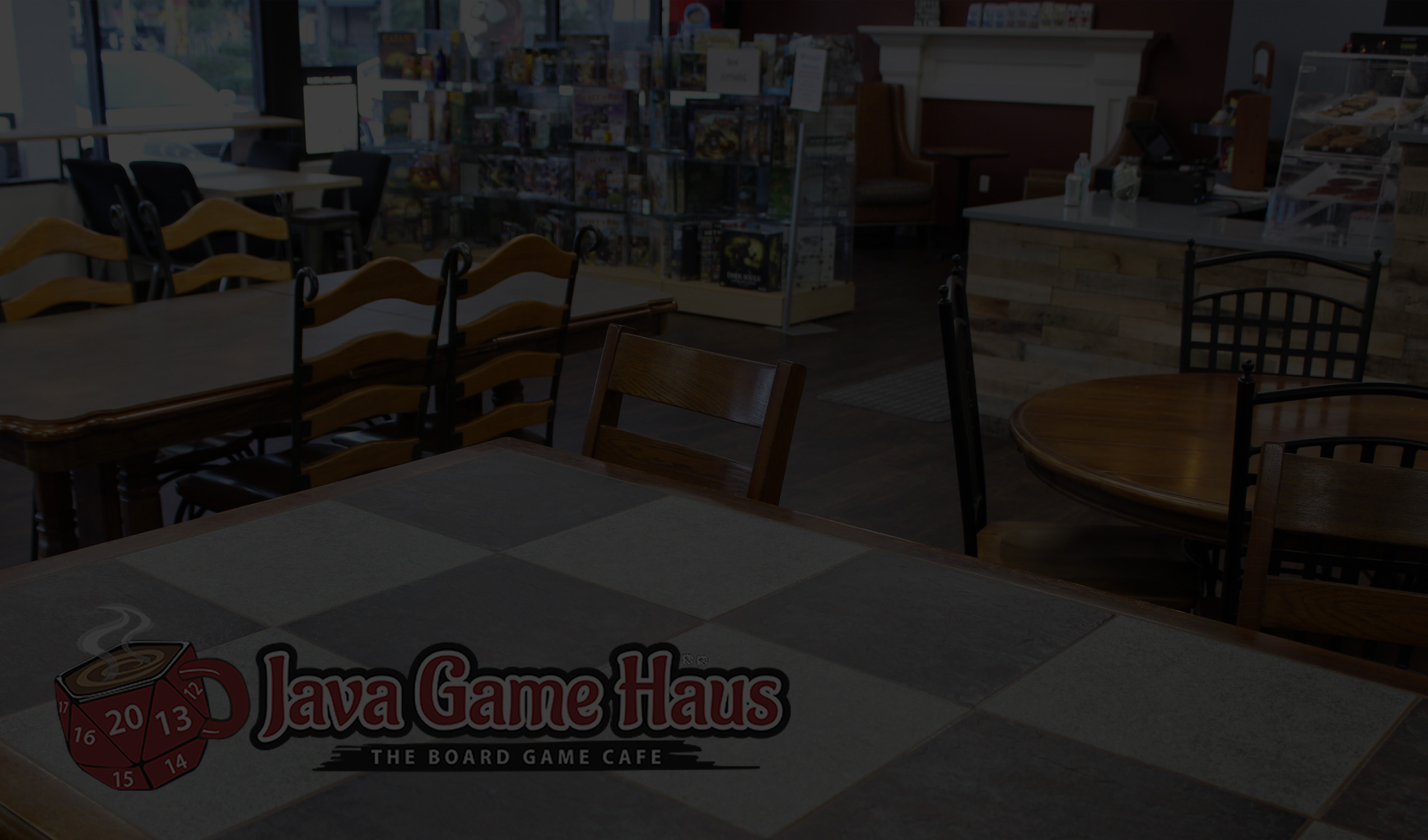 Digital Gift Card Java Game Haus Jacksonvilles Board Game Cafe - Digital board game table